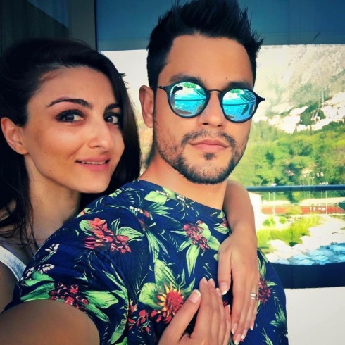 Soha Ali Khan and Kunal Khemu at Croatia