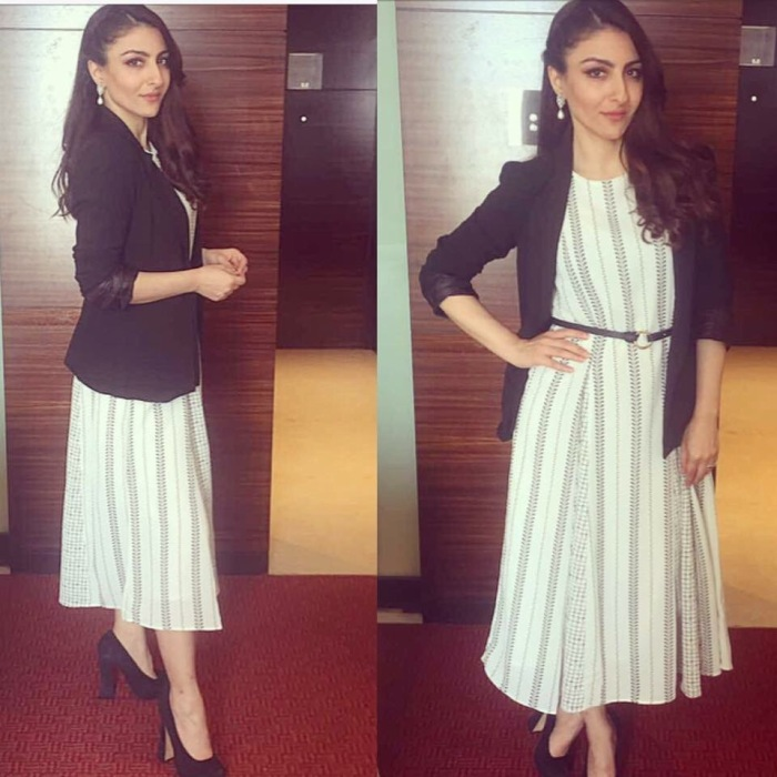 Soha Ali Khan at an event in Pune