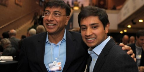 Lakshmi and Aditya mittal
