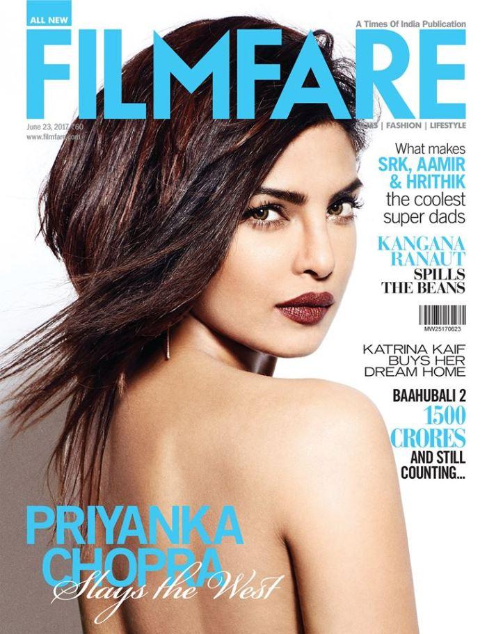 Priyanka filmfare cover