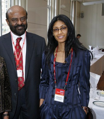 Roshni and Shiv Nadar