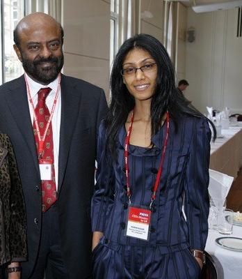 Roshni and Shiv Nadar